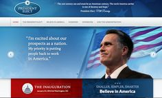 Website that would have been for the President Elect Mitt Romney