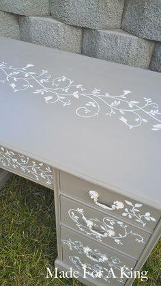 Dresser re-do via made4aking.com