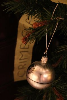 Star Wars and Sherlock Christmas ornaments