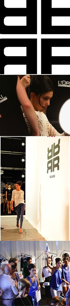 Backstage for Riani