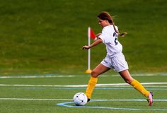 The Cazenovia women's soccer team went up against Keuka Park on September 10, but the Wolfpack defeated the Wildcats, 3-1.