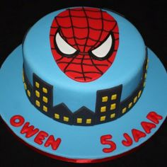 birthday parti, cityscap, spiderman cake, cake idea, cakes, spiderman parti, boy, birthday cake, kid
