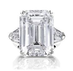 Harry Winston Engagement Rings | Harry Winston Engagement: Diamond Rings - Classic Winston, Emerald-Cut ...