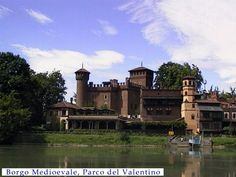 """Turin - Medieval Village~Was created with the intent of """"calling the attention of the public to monuments of the past"""", """"to develop a greater desire to conserve them"""", to educate people about the art, history and culture of the 1400s in Piedmont and Valle d'Aosta."""