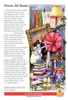 Gloria fuertes_El rastro Para ejercitar el léxico: ¿Qué cosas se pueden encontrar en un Rastro? vía www.librosalacalle.com