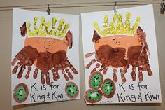 K for King and Kiwi