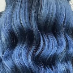 This blue hair color