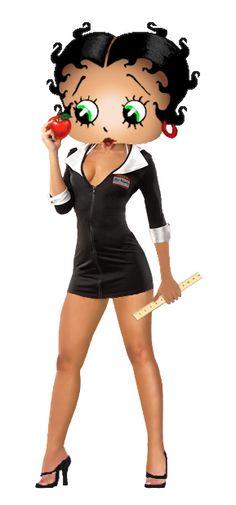 Betty Boop My Teacher