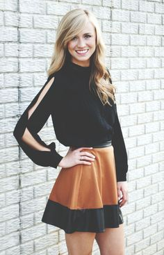 Lizard Thicket - Fall Swing Skirt, $29.99 (http://www.shoplizardthicket.com/fall-swing-skirt/)