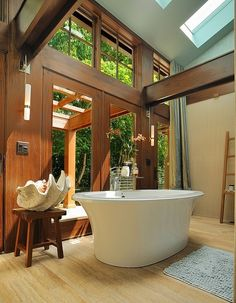 Beautiful bathroom....wow.