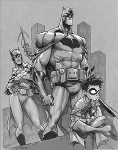 Gotham Knights by Eddie Nuñez