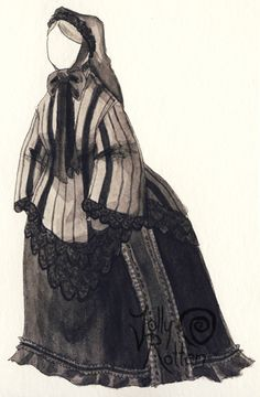Queen Victoria's mourning dress