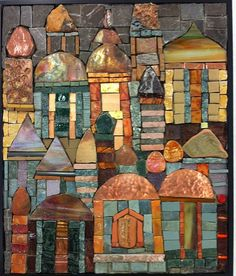 Love the colors in this mosaic by Sherri King