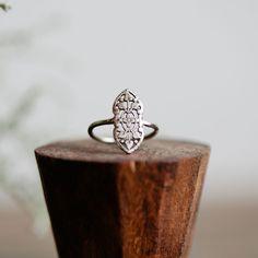 Filigree Vintage Ring 14K