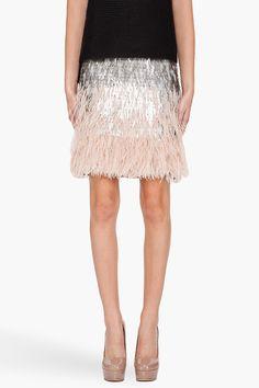 Matthew Williamson Ombre Skirt