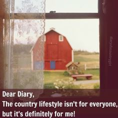 diary of a country girl.