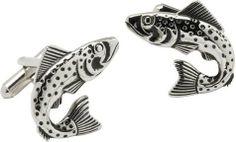 Fish Cufflinks by Cuff-Daddy Cuff-Daddy. $28.99. Arrives in hard-sided, presentation box suitable for gifting.. Made by Cuff-Daddy