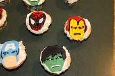 Marvel Avengers for our #disneyside party