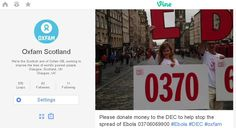 Check out our new Vine channel http://vine.co/oxfamscotland