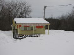 Houlton Farms Dairy Bar in Maine is closed in the winter, but the spring opening gets a huge crowd!