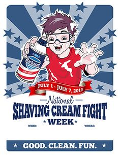 Barbasol :: National Shaving Cream Fight Week