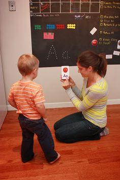 At-home preschool ideas
