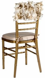 NEW! Curly Willow Organic Chivari Chair Cap diy???????