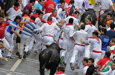 Have you got the balls    San Fermin 2012: Running of the Bulls - The Big Picture - Boston.com