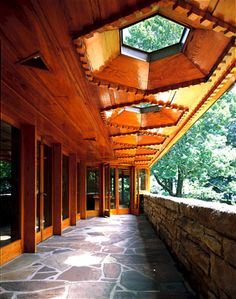 "Kentuck Knob, Frank Lloyd Wright, 1956, Chalk Hill, Pennsylvania...beautiful and ""live-able"""