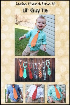 little boy ties!