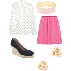 """Summer work outfit"" by ezrader on Polyvore"