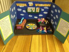 "1st place: SHARPP -- ""Welcome to the Wellness Wheel""  University of New Hampshire, Health Services (2013 Peeps Show)"