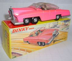 DINKY TOYS 100 Lady Penelope's Fab 1 Car
