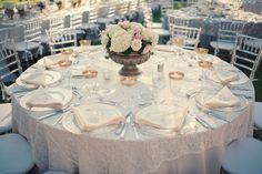 Romantic Champagne and Blush Wedding