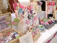 spring craft show stall display idea