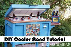 DIY Cooler Stand Tutorial