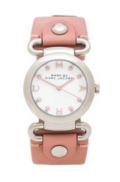 beautiful pink watch