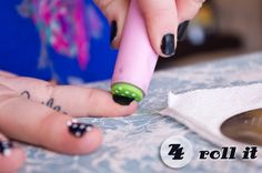 awesome patterned nails tutorial!!