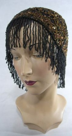 In love with this Edwardian Cap in black copper from Leluxe Clothing!