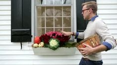 Watch 4-Step Outdoor Fall Window Box in the Better Homes and Gardens Video