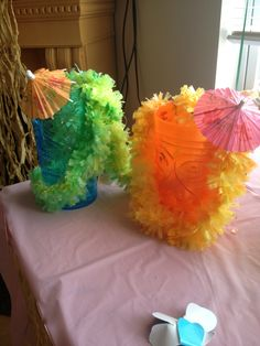 Hawaiian luau party idea