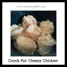 Crock Pot Cheesy Chicken from @Clair @ Mummy Deals is a kid friendly #crockpot meal!
