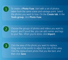 How to create a Photo Fuse