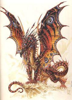 butterfli dragon, jean baptiste monge, jeanbaptist mong, fairi dragon, dragons, awesom art, fantasi art, jean-baptiste monge, artist jean