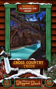 Walt Disney World Planning Pins: Cross Country Creek