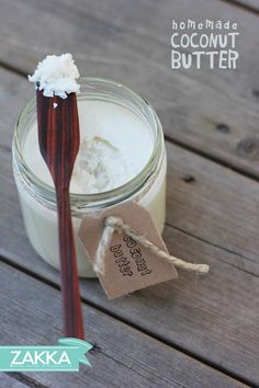 Homemade Raw Coconut Butter