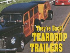 vintage teardrop trailers with plans!