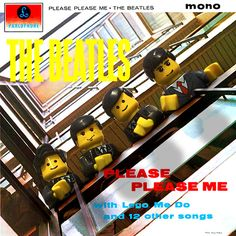 Classic album covers recreated in Lego