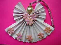 Origami Maniacs: Origami Fan Angel