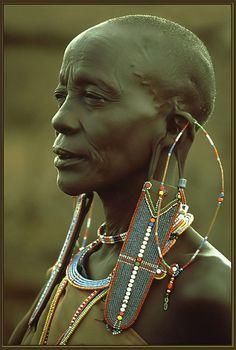 Africa | Masai woman. Mara, Kenya | ©Erich Rohrauer